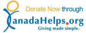 Canada Helps donate button