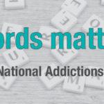National Addictions Awareness Week 2017 banner