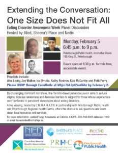 Extending the Conversation - One size does not fit all poster