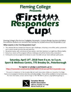 First Responders Cup poster