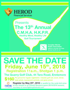Herod Financial Services Golf Tournament Poster