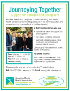 Journeying Together Northumberland poster
