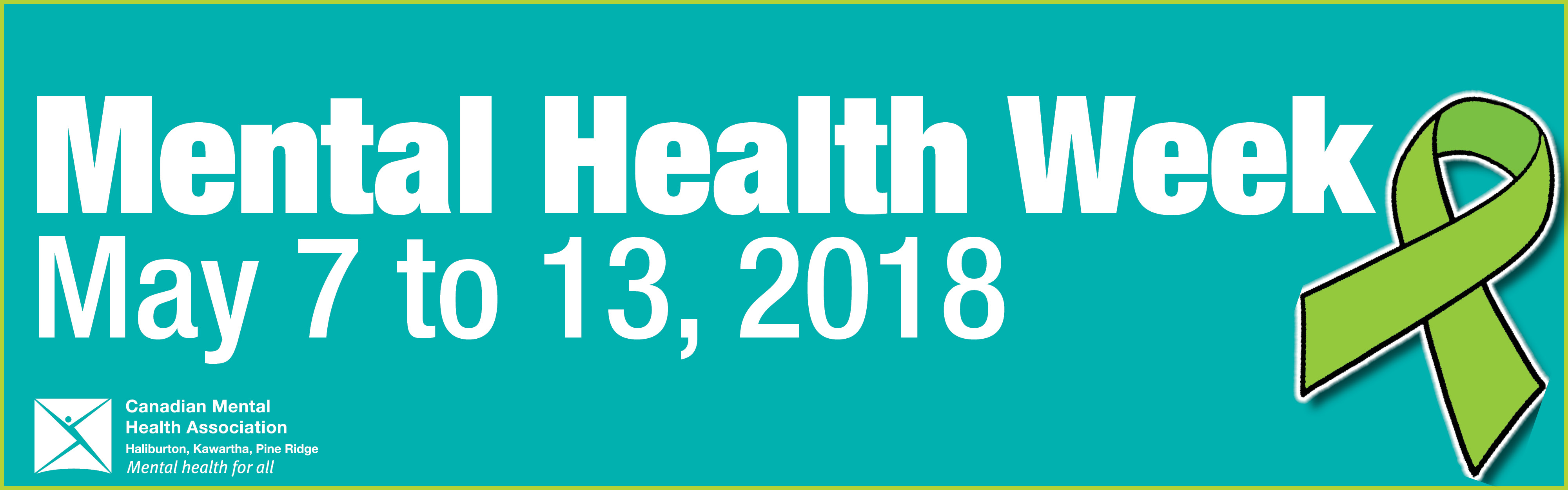 Mental Health Week banner