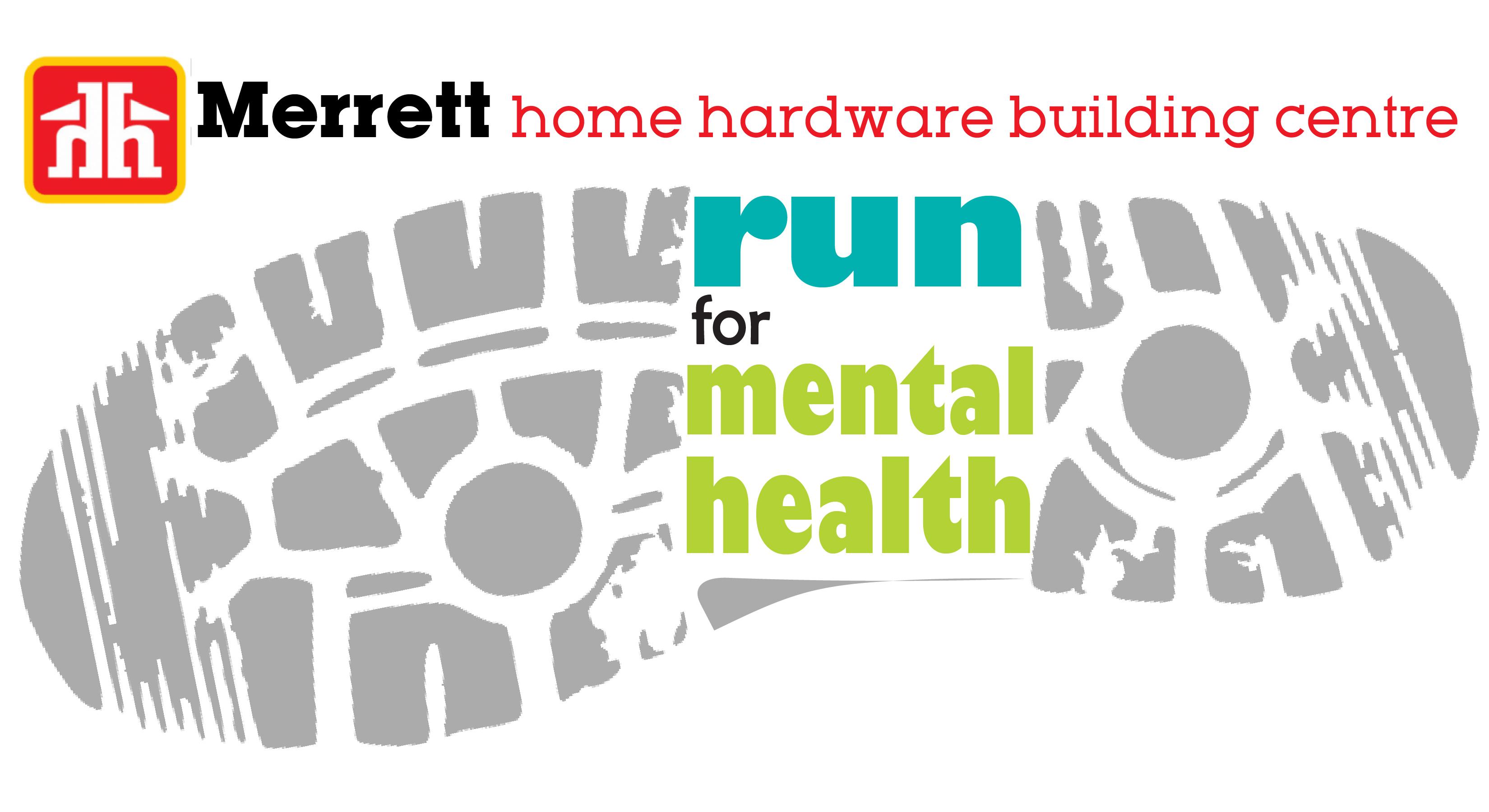 Merrett Home Hardware Run logo