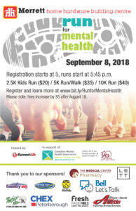 Run for Mental Health poster