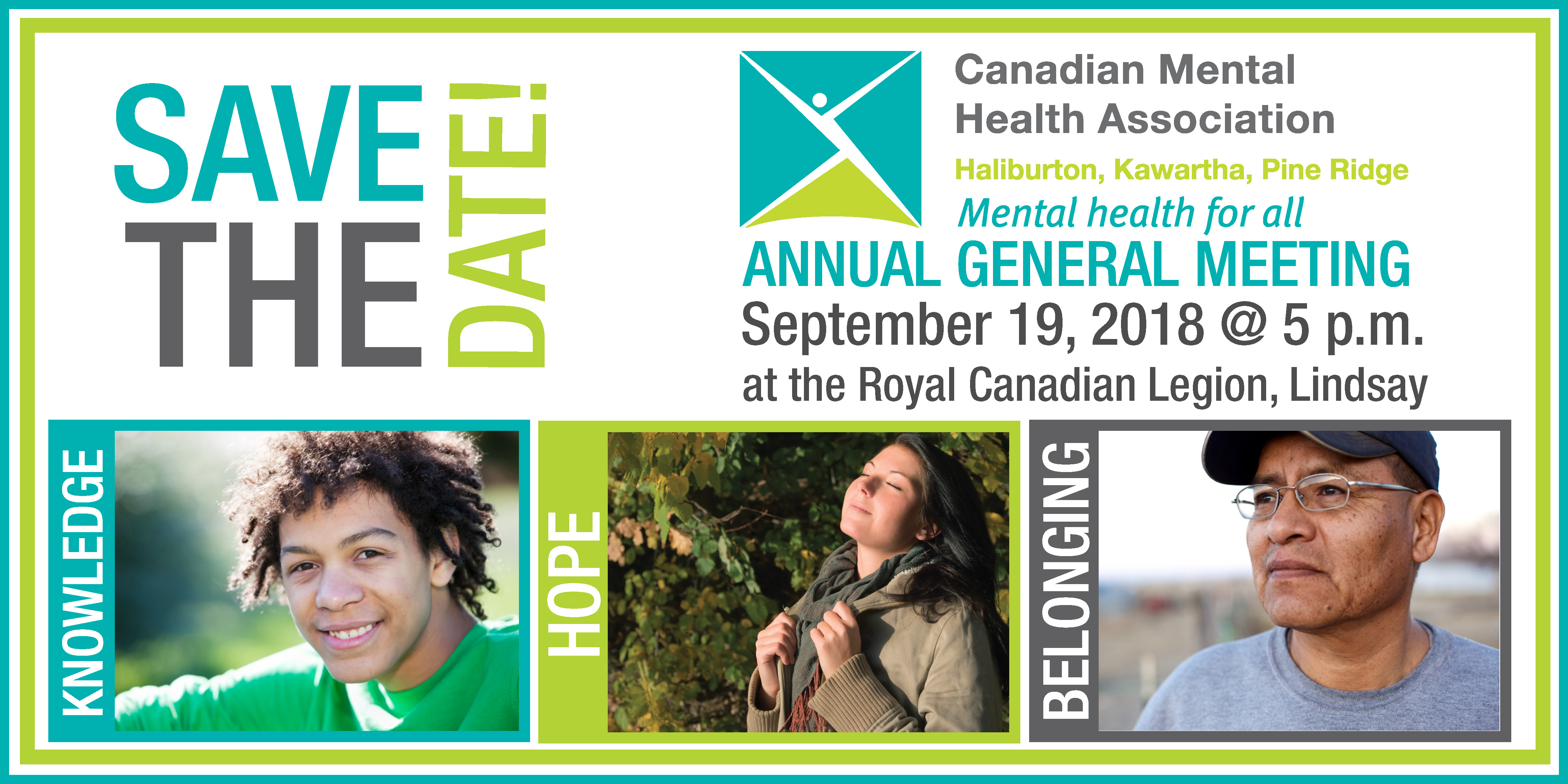 Save the Date for our Annual General Meeting