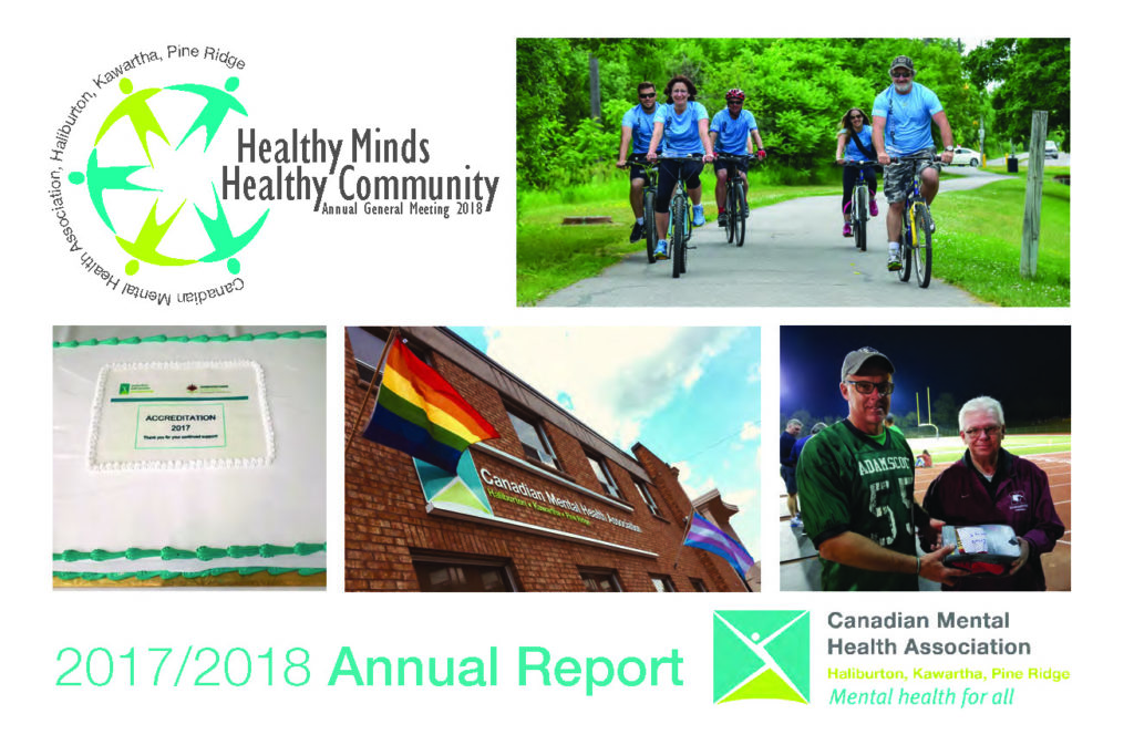 Cover of 2017/2018 Annual Report