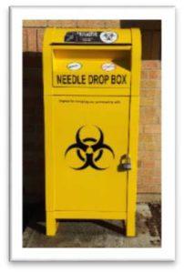 Needle box