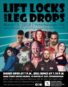 Lift Locks and Leg Drops Promotional Poster