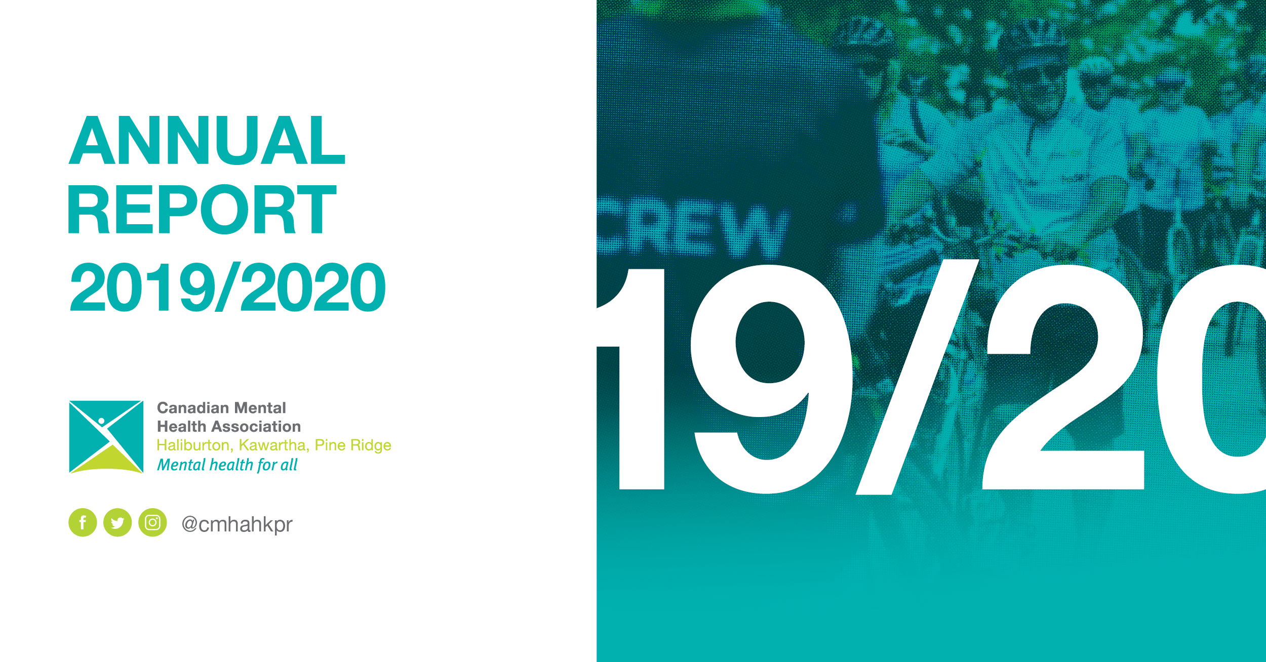cover of 2019/2020 annual report